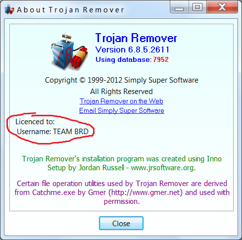 Trojan Guarder Gold Version (free version) download for PC