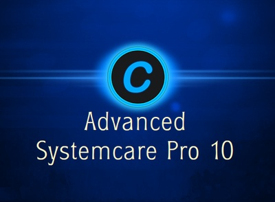 Advanced SystemCare Pro 10