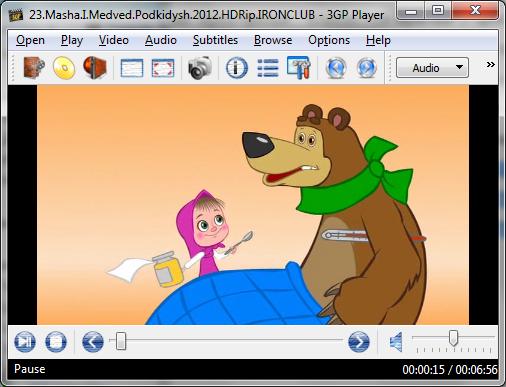 3GP Player - скачать бесплатно 3GP Player для Windows - MyDIV.
