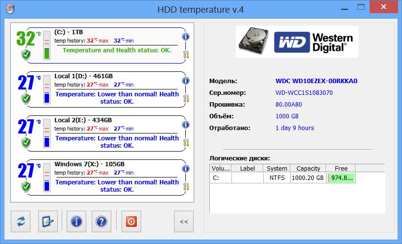 Температура жесткого диска программа скачать
