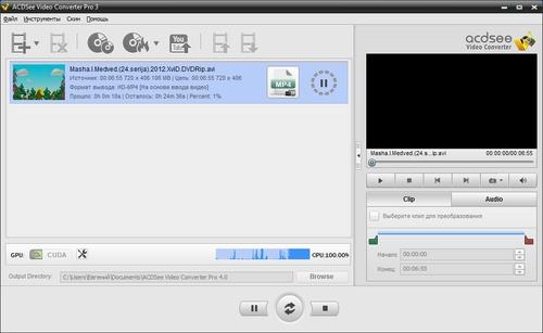Crack для ACDSee Video Converter