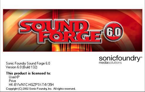 Sound forge   бесплатно 6